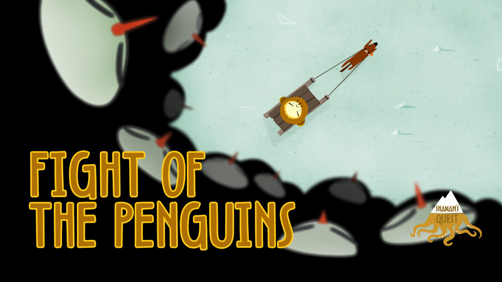 Fight of the Penguins